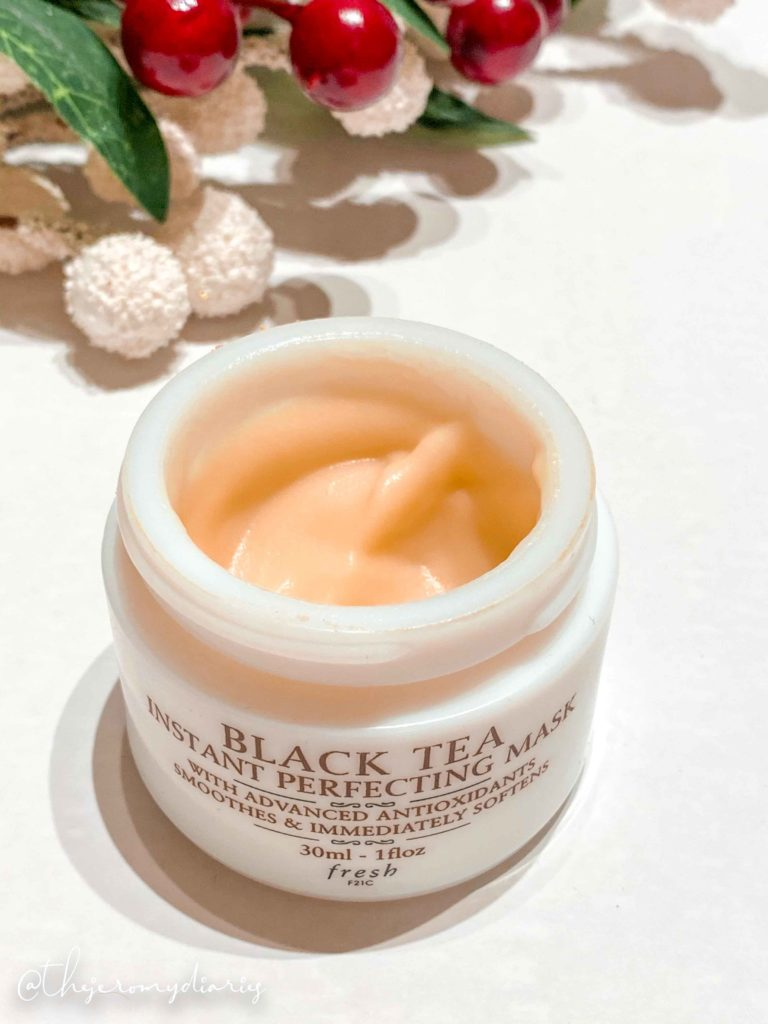 fresh beauty black tea instant perfecting mask review
