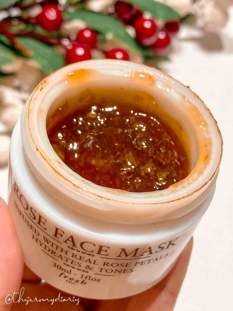 fresh beauty rose face mask review
