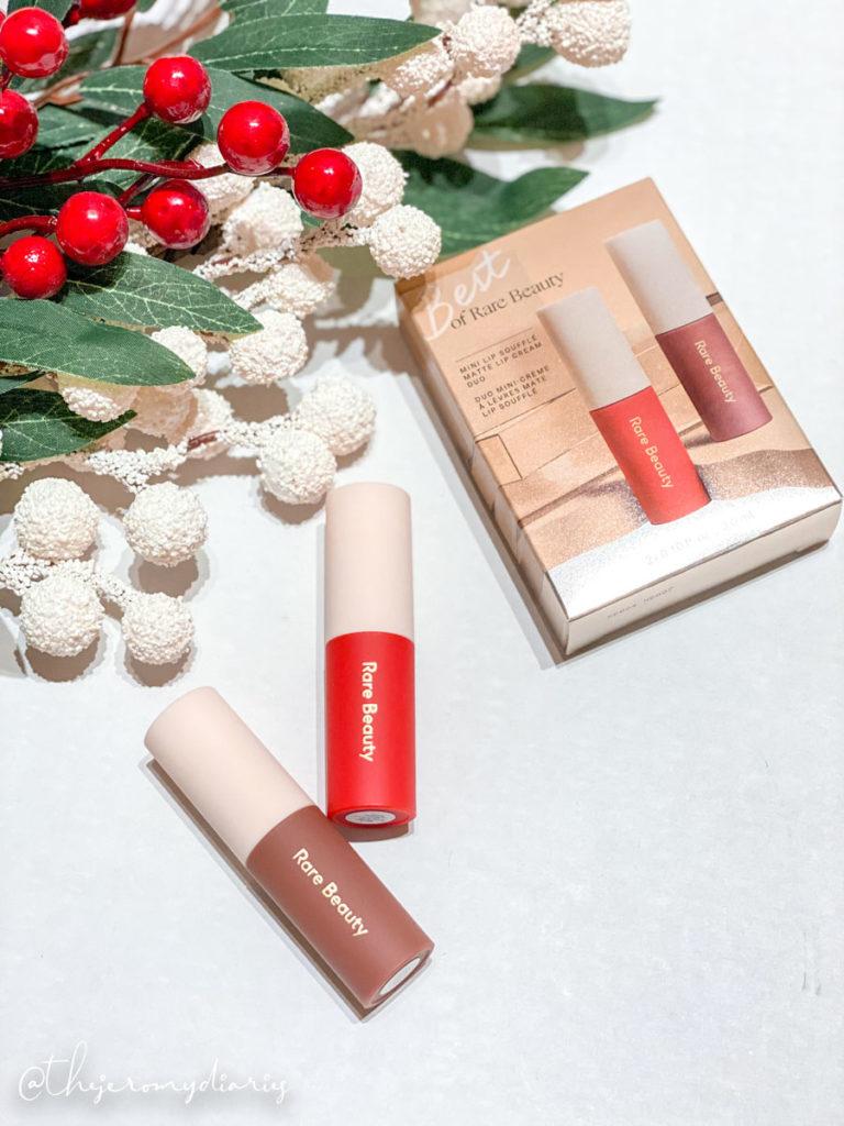 rare beauty lipstick review inspire