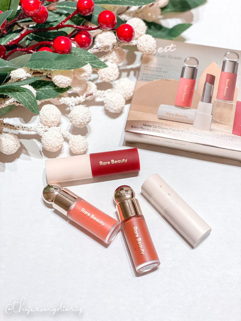 rare beauty holiday set review