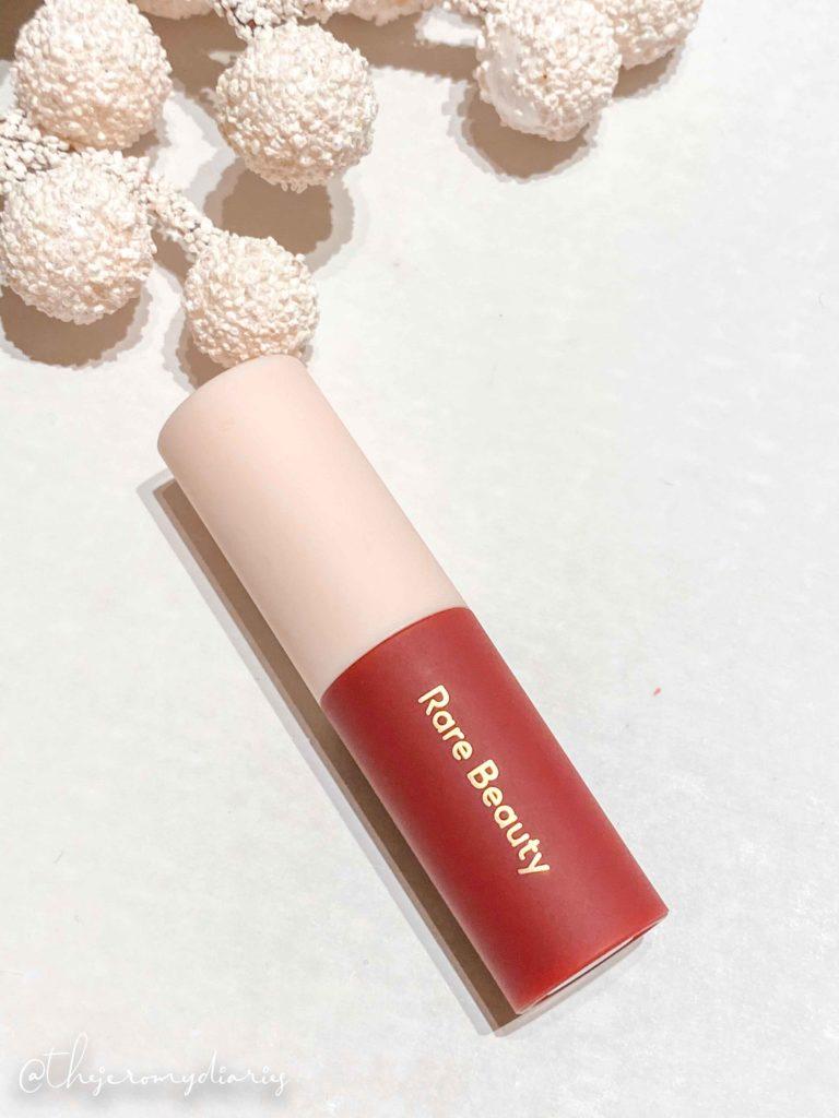 rare beauty matte lipstick review