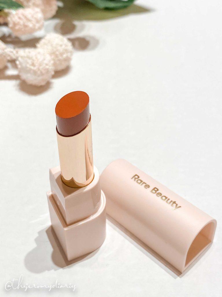 rare beauty dewy lip balm review